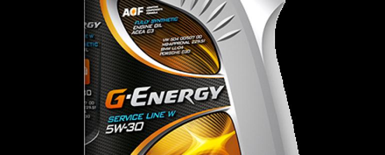 G-ENERGY SERVICE LINE W 5W-30