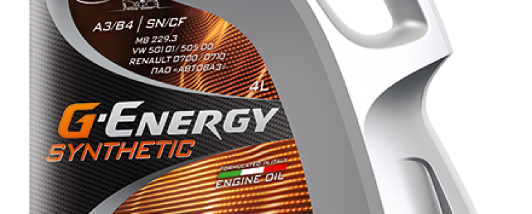 G-ENERGY SYNTHETIC LONG LIFE 10W-40